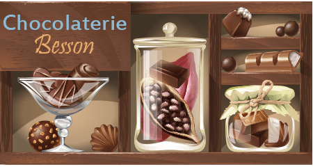 Boutique chocolaterie Besson