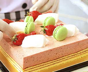 Gâteau à la mousse de fruits